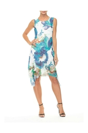 Alison Sheri Blue Floral Sundress - Product Mini Image