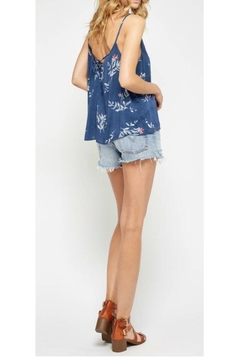 Gentle Fawn Blue Floral Top - Alternate List Image