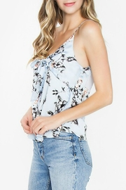 Sugar Lips Blue Floral Top - Product Mini Image