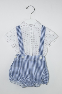 Shoptiques Product: Blue Gingham Romper