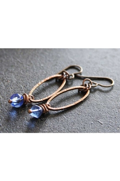 RELMoriginals Blue Glass Earrings - Product List Image