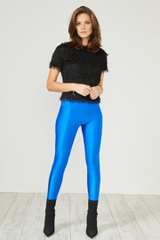 Urban Touch Blue Glitter Leggings - Product Mini Image