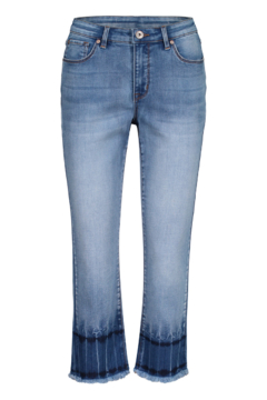 Tribal Jeans Blue Glow Ankle Jeans - Product List Image