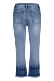 Tribal Jeans Blue Glow Ankle Jeans - Front full body