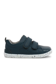 Bobux Blue Grass-Court Shoes - Front full body