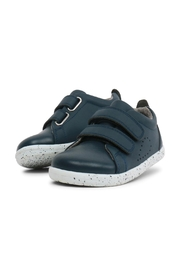 Bobux Blue Grass-Court Shoes - Front cropped
