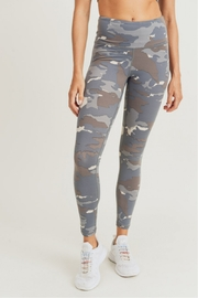 Mono B Blue Grey Camo Leggings - Product Mini Image