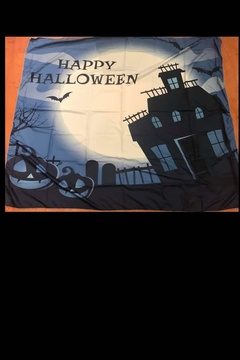 New Mix Blue Halloween Tapestry - Alternate List Image
