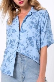 Motel Rocks Blue Hawaiian Shirt - Product Mini Image