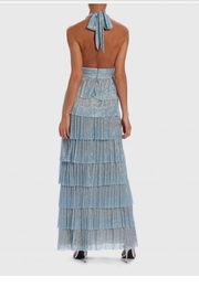 Forever Unique Blue Irridescent Gown - Side cropped
