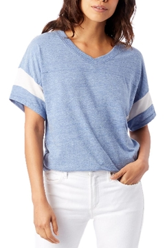 Shoptiques Product: Blue Jersey Tee