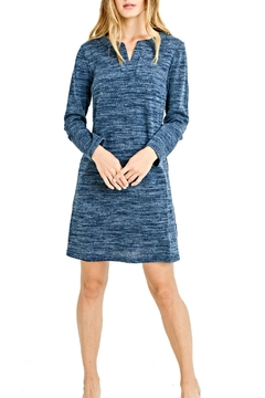 Aryeh Blue Knit Dress - Product List Image