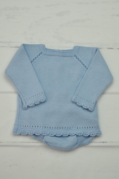 Granlei 1980 Blue Knitted Outfit - Product List Image