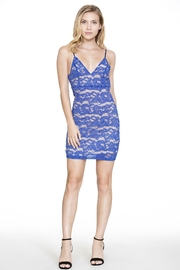 The Room Blue Lace Dress - Product Mini Image