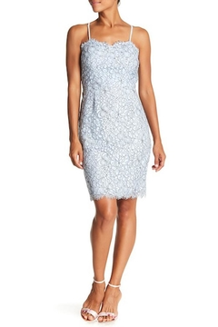 ABS Allen Schwartz Blue Lace Dress - Alternate List Image