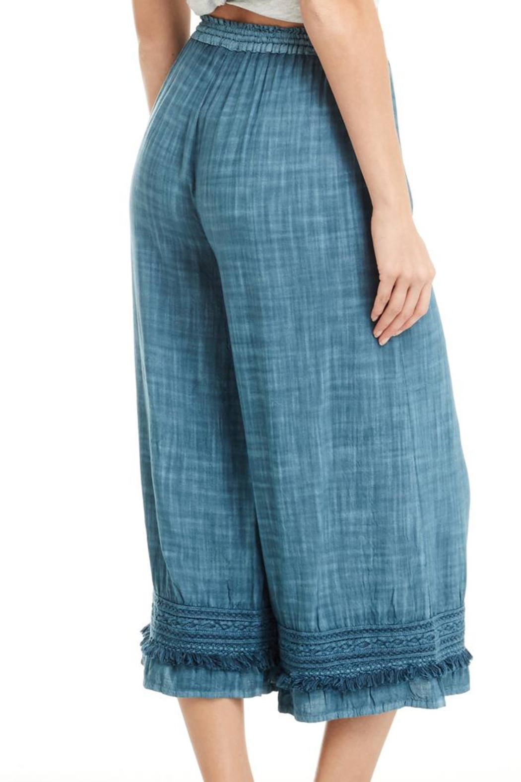Patrons of Peace Blue Lagoon Pants - Front Full Image
