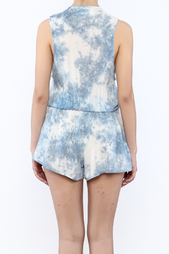 Blue Life Deep V Romper - Alternate List Image