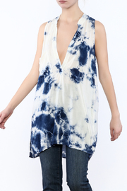 Blue Life Sleeveless Tunic - Product Mini Image