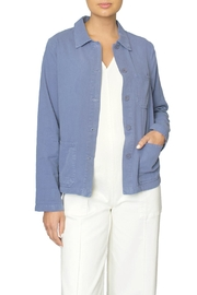 LACAUSA Blue Light Jacket - Front full body