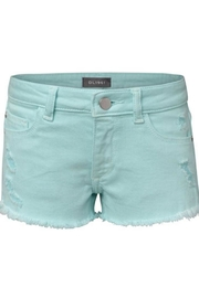 DL 1961 Blue Lucy Shorts - Front cropped