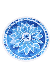 Riah Fashion Blue Mandala Towel - Product Mini Image