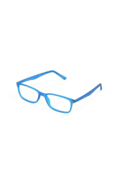 The Birds Nest BLUE MANHATTAN GELS +1.75 SCOJO READING GLASSES - Front cropped