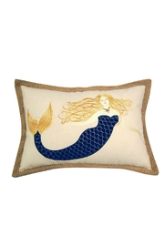 Rightside Design Blue Mermaid Pillow - Product Mini Image
