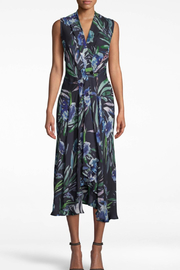 Nicole Miller Blue Mirage Dress - Front full body