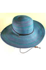 Jeanne Simmons Accessories Blue Mix Women's Hat - Product Mini Image