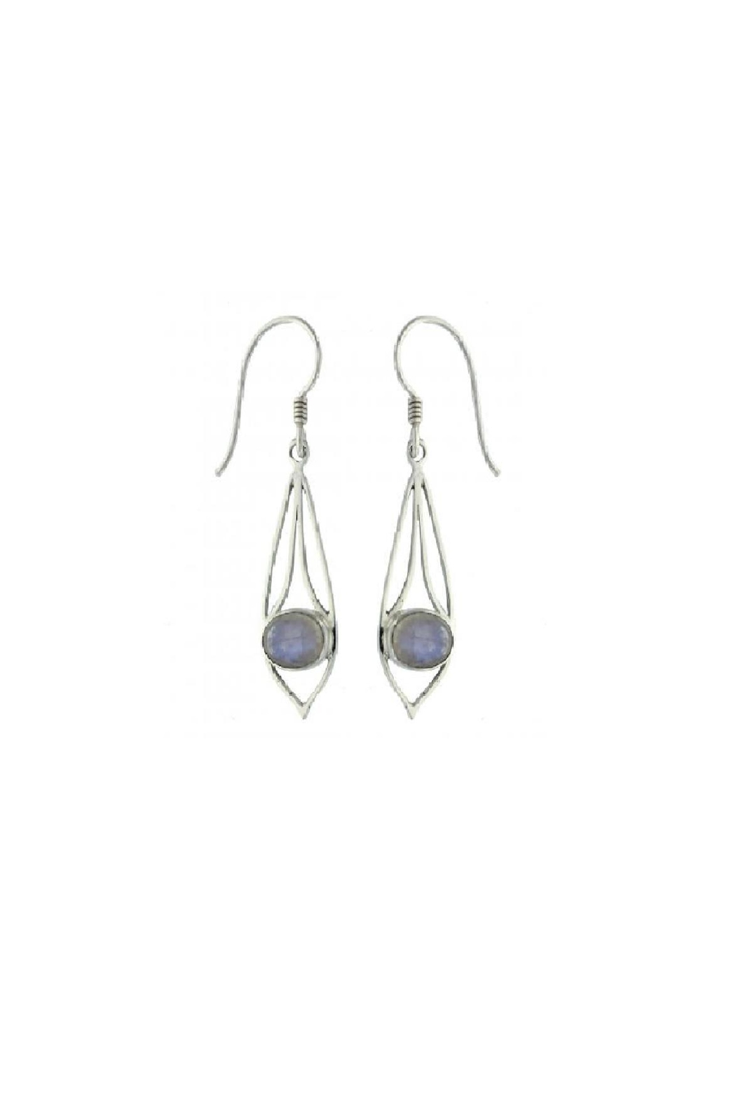 Vera Wolf Blue Moonstone Earring - Main Image