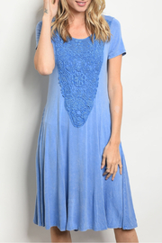 annabelle Blue Ocean Dress - Product Mini Image