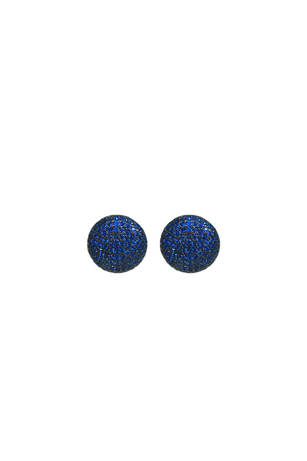 Wild Lilies Jewelry  Blue Pave Studs - Main Image