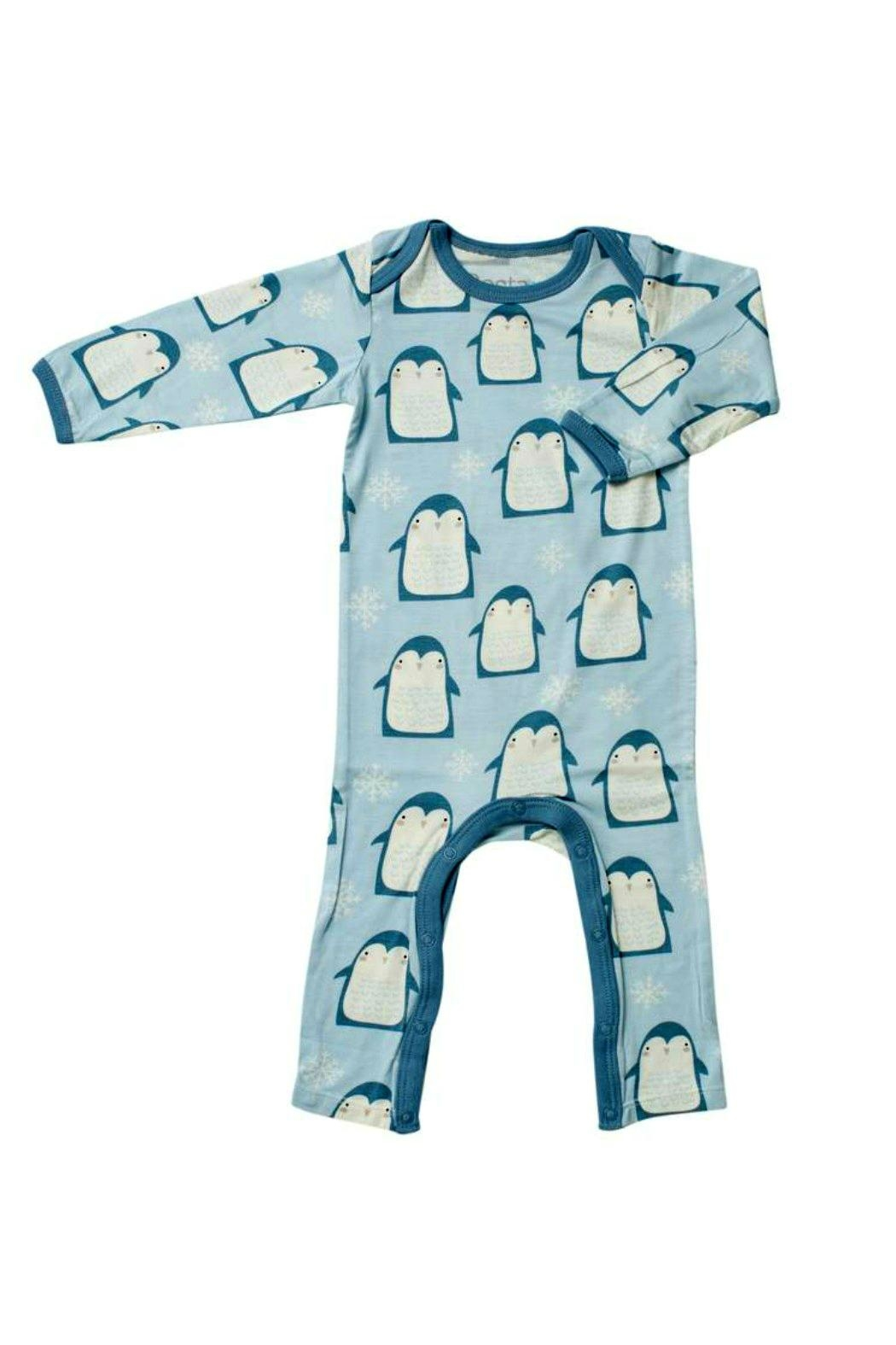 Bestaroo Blue Penguin Coverall - Front Cropped Image