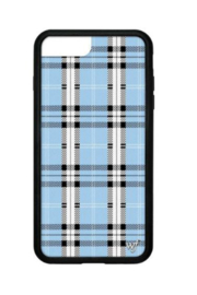 Wildflower Cases Blue Plaid iPhone 6+/7+/8+ - Product Mini Image