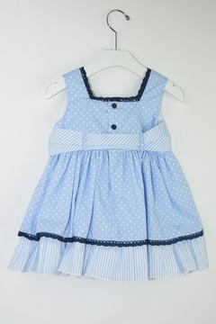 Dolce Petit Blue Polkadots Dress - Alternate List Image