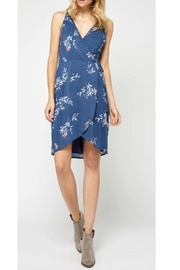 Gentle Fawn Blue Print Dress - Product Mini Image