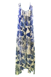 Michael Tyler Collections Blue print maxidress - Front cropped