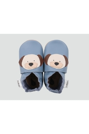 Bobux Blue-Puppy Soft-Sole Shoes - Front cropped
