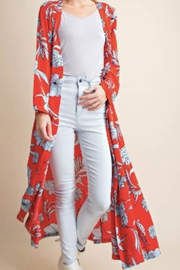 KORI AMERICA Blue & Red Duster - Side cropped