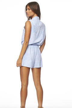 Young Fabulous & Broke Blue Rodeo Romper - Alternate List Image