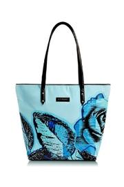 Vera Bradley Blue-Rose Ella Tote - Product Mini Image
