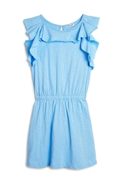 Ragdoll & Rockets Blue Ruffle Dress - Product Mini Image