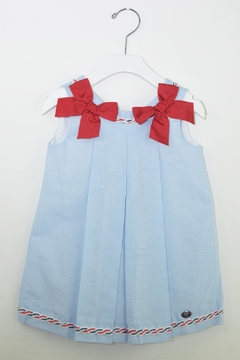 Dolce Petit Blue Sailor Dress - Product List Image