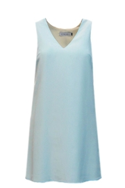 Askari  Blue Silk Dress - Product Mini Image