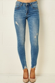 frontrow Blue Skinny Jeans - Product Mini Image