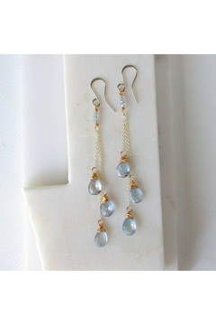 LINDA TRENT JEWELRY BLUE SKY DECENDING EARRINGS - Alternate List Image