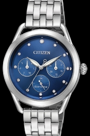 Citizen Watches Blue Stainless Watch - Product Mini Image