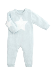 Elegant Baby Blue Star Jumpsuit - Product Mini Image