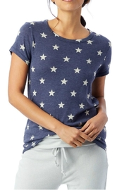 Alternative Apparel Blue Star Tee - Front cropped