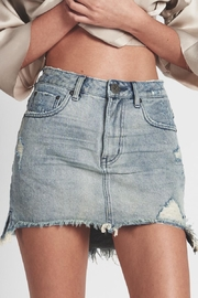 One Teaspoon Blue-Storm Denim Skirt - Product Mini Image